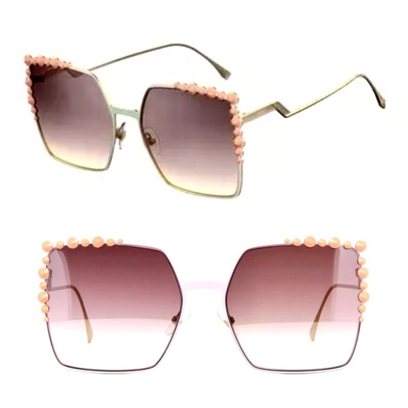 0dc17c1134db Fendi Candy Oversized Square sunglasses